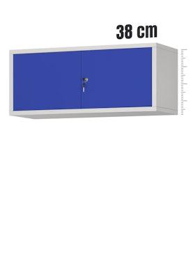 JAN NOWAK model EWA biurowa nadstawka do szafy szaro-niebieska