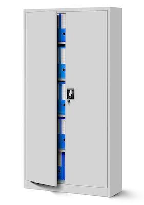 JAN NOWAK model JAN biurowa szafa metalowa na akta: szara