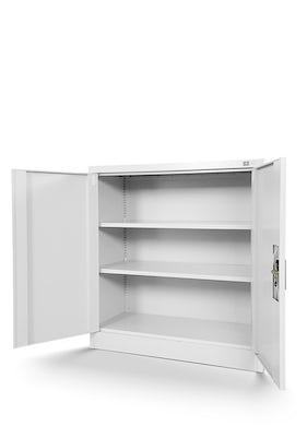 JAN NOWAK model BEATA metalowa szafka z drzwiami: biała