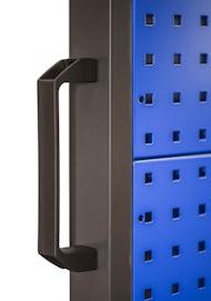 JAN NOWAK model MARIUSZ narzędziowa ścianka metalowa: niebieska